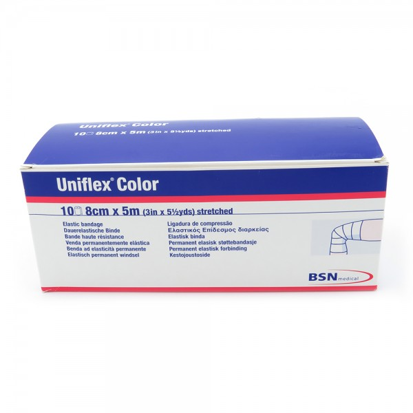 Uniflex® color, 5 m x 8 cm, grün