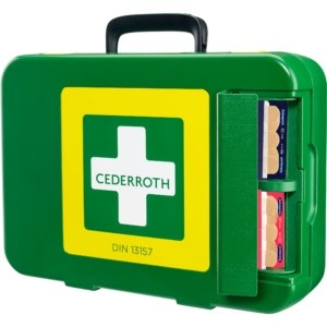 Cederroth First Aid Kit Koffer DIN 13157